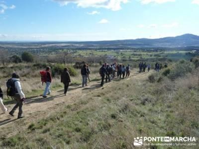 Senderismo Sierra Norte Madrid - Belén Viviente de Buitrago; senderismo en lanzarote